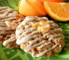 Food Pusher: Orange Spice Oatmeal Cookies