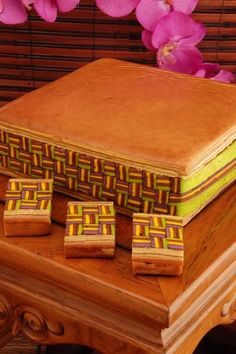 Lapis Tikar If tiramisu is your liking, and you& always fancy the creative design of Malay straw mat, why not indulge in the local style . Fancy Desserts, Delicious Desserts, Yummy Food, Thousand Layer Cake, Bolu Cake, Layer Cake Recipes, Layer Cakes, Lapis Legit, Bake Off Recipes
