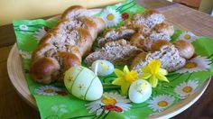 Húsvéti fonott kalács diétás módra Eggs, Cookies, Breakfast, Desserts, Crack Crackers, Morning Coffee, Tailgate Desserts, Deserts, Biscuits