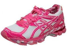 Asics Gt-1000 3 Pr Womens T4L8N-0135 Pink Ribbon White Running Shoes Wmns Sz 9.5