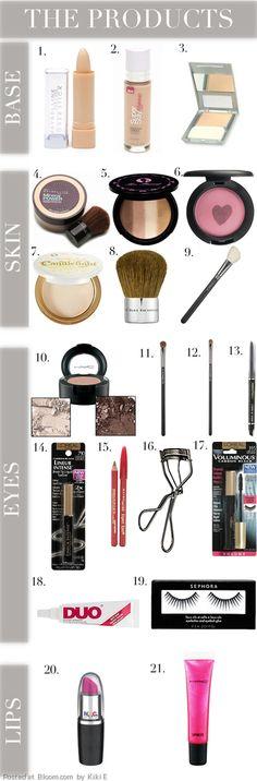 http://www.blonderambitions.com/2011/10/26/how-to-bubblegum-pop-makeup/
