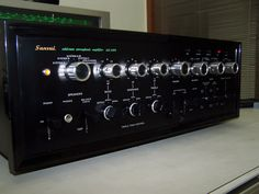 Sansui AU 999 amplifier | by twinmushrooms