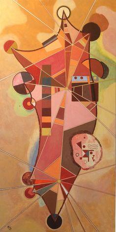 Kandinsky 3 Points -1929 - [Collection Privée Silland]