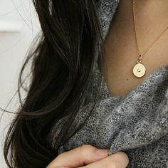 """Coin Necklace  Please tag me if you post any photos wearing your Sissim pieces so I can see! You can use #sissimjewelry """""""