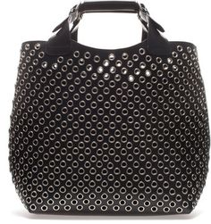 Zara Cut Work Tote Bag - Lyst