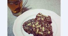 Κορμός σοκολάτας με ταχίνι και μέλι