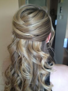 hair for Julies wedding?