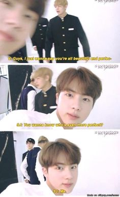 You just couldn't help yourself, could you Jin? XDXDXDXD