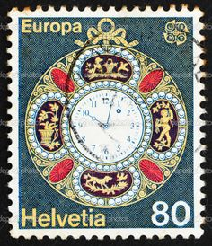 vintage swiss postage stamps - Google Search