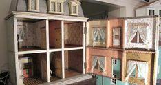 Susan's Mini Homes: Christian Hacker Antique Dollhouse Circa 1880