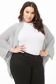 961a235255804 Find sales on Plus Size Marled Cocoon Cardigan and other deeply discounted  products at Shop Scenes.