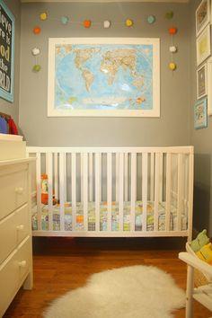 map above crib