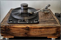 Andrews Audio Grail Sable Special Edition Garrard 301 Turntable in a Cusworth plinth