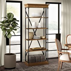 online shopping for Poynor Etagere Bookcase Greyleigh from top store. See new offer for Poynor Etagere Bookcase Greyleigh