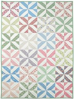 Spring Showers Quilt Pattern