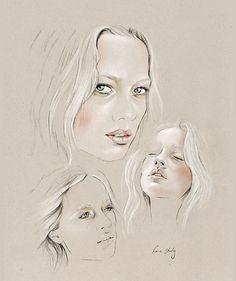 kelly thompson illustrations | FASHION156 / Daily Blog
