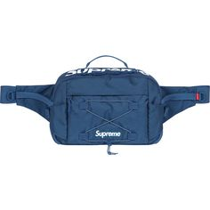 Supreme Waist Bag ❤ liked on Polyvore featuring bags, fanny bag, waist fanny pack, belt bag, hip fanny pack and bum bags