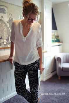 Prülla stylische Jogginghose aus Nosh Jersey