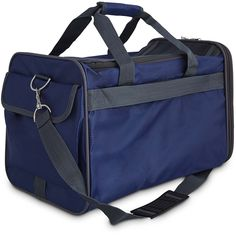 Good2Go Basic Pet Carrier in Navy, 17.75 L x 10.73 W x 10.5 H ** Learn more by visiting the image link. (This is an affiliate link and I receive a commission for the sales) #MyDog