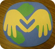 "Earth Day fun -- has template for student making his or her own ""promise to the earth"""