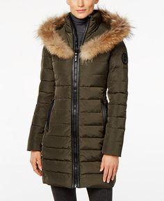 509.99$  Buy now - http://viutc.justgood.pw/vig/item.php?t=88afi137633 - Toreva Asiatic Raccoon-Fur-Trim Puffer Coat 509.99$