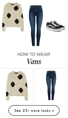 """""""Untitled #226"""" by ej0337005 on Polyvore featuring The Elder Statesman, Pieces and Vans"""