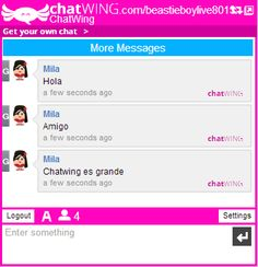 Chatwing App Website