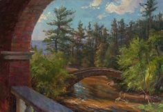 Chester's View by Mary Pettis Oil ~ 14 x 20
