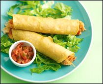 HG's Exploding Chicken Taquitos