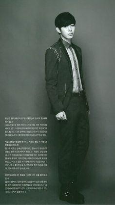 Hongbin ♡ #VIXX // STARAZ Magazine January 2014 Issue