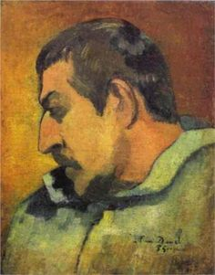 Paul Gauguin (French: 1848 – 1903)  | Post-Impressionism | Self Portrait - 1896