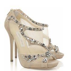 Nos encanta Jimmy Choo. Qué te parecen estos zapatos?