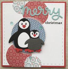 LindaCrea: Pinguïns #1 - Kerst 2016