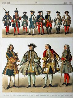 French Uniforms and Men's Clothing
