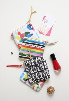 New exclusive little coin pouches by Kindah Khalidy, www.babasouk.ca