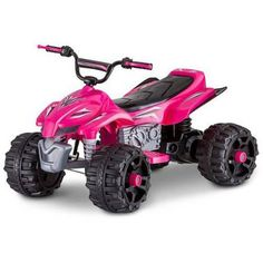 Sport ATV 12V Battery Powered Ride-On, Pink - Walmart.com