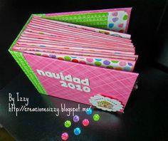 Mini Album Navidad en Rosa http://creacionesizzy.blogspot.mx/2013/12/navidad-en-rosa.html