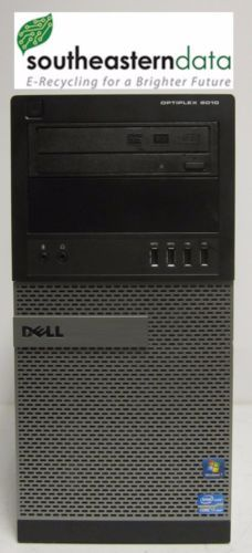 Dell Optiplex 9010 Intel Core i7-3770 @ 3.40GHz 6GB RAM 500GB HDD Win 7 Pro