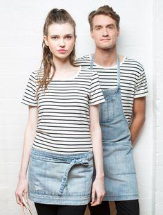 Cargo Crew - Boston Distressed Denim Tool Belt - Online Uniform Shop Australia