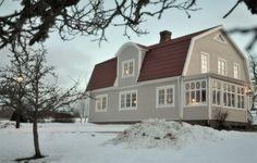 Hem: måla hus - färginspiration - Bukefalos