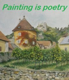 #Österreich #Dürnstein #Geschenke #Weinachten #ölmalerei #Kunst Painting, Ideas, Presents, Kunst, Painting Art, Paintings, Thoughts, Drawings