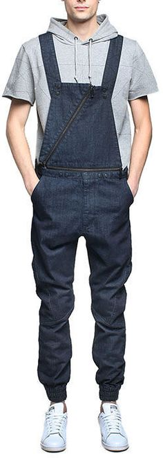 Entree LS Unknown Indigo Overalls