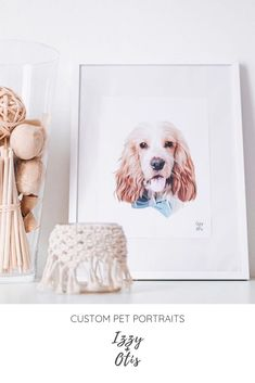 Expert Portraits Created From Your Pet Photos Custom Dog Portraits, Portraits From Photos, Dog Photos, Pet Portraits, Digital Portrait, Portrait Art, Dog Illustration, Dog Memorial, Head And Neck