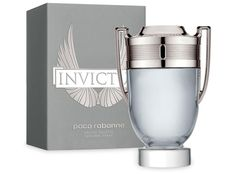 Paco Rabanne Invictus Eau De Toilette The Fragrance Opens With Fresh Grapefruit And a Marine Accord That Lead To The Heart Of Aromatic Bay Leaf And Hedione Jasmine And a Woody Base Of Guaiac Wood, Patchouli, Oak Moss And Ambergris. Tolu, Perry Ellis Perfume, Channel Perfume, Perfumes Caravan, Deodorant, Halloween Perfume, Anuncio Perfume, Invictus Paco Rabanne, Mason Jars