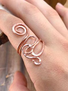Peppige Alu-Draht-Ringe | nakit | Pinterest | Draht, Ringe und Schmuck