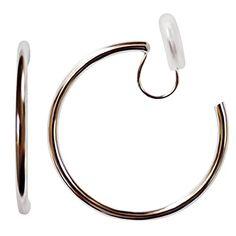 Bangles, Bracelets, Clip On Earrings, Spiral, Elegant, Silver, Jewelry, Women, Classy
