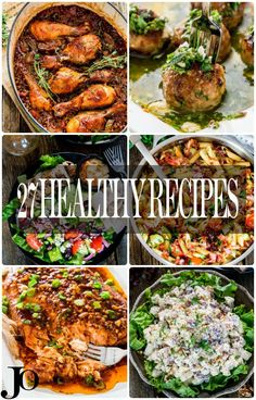 27 Healthy Recipes To Kick Start Your 2016 New Year's Resolutions – get started on meeting your new year's goals with a collection of my favorite healthy recipes from 2016. | Food Recipes