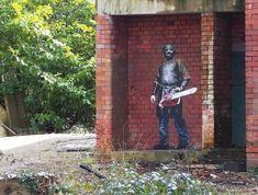 Street art in UK by JPS | #greaturbanartists #streetartonline #urbanart #graffitiart #art #streetart #graffiti #jps