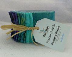 JINNY BEYER Pixie Project Batiks~LAGOON #2~Jelly Roll 40 Strips~RJR~ JR135