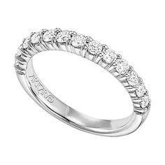 ArtCarved Diamond Wedding Band 14KPrice $2319.00 Ben Bridge Galleria